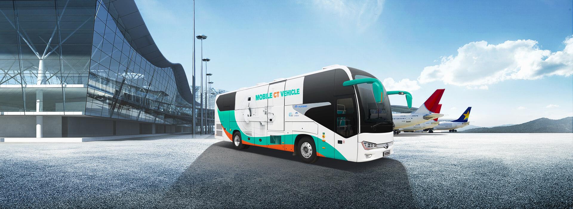 Mobile CT Vehicle