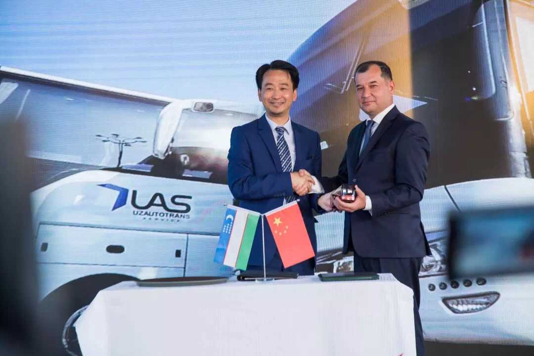168 Yutong coaches delivered to Uzbekistan
