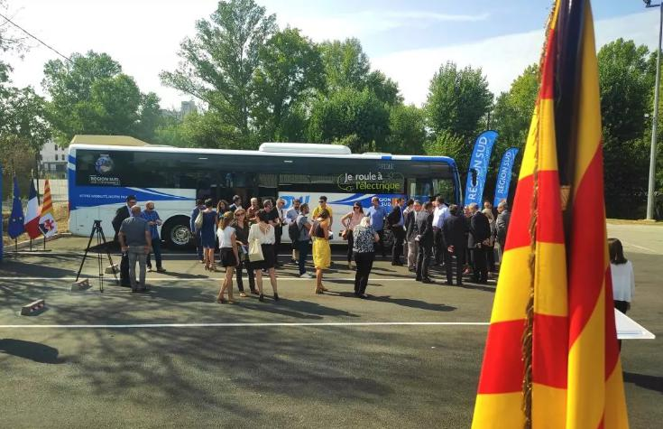 Europes First Pure Electric Intercity Line Opened, Yutong Pure Electric Bus Entering Provence