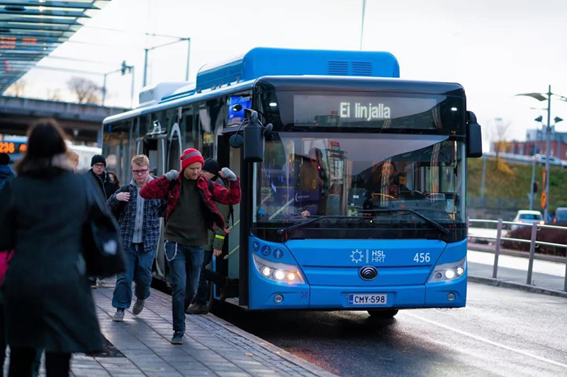 Yutong new energy buses favored in developed Nordic countries