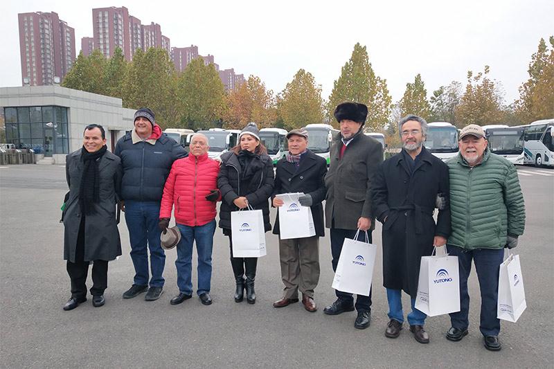 Mexican media delegation visits Yutong