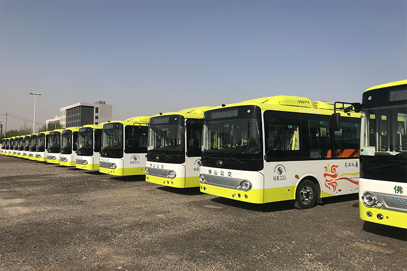 100 Yutong full electric buses delivered to Guangdong