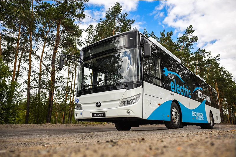 100 Yutong electric buses exported to Kazakhstan