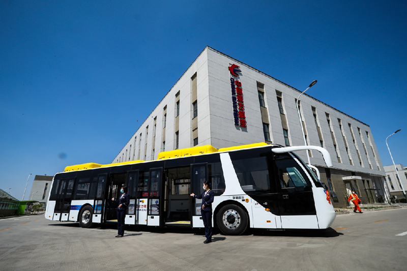 12 Yutong full electric airfield buses delivered to China Eastern Airlines