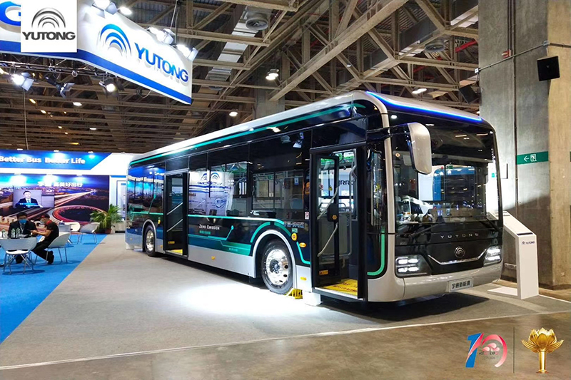 Yutong Bus Product CP Stand Out At 2020 China (Macau) International Automobile Exposition