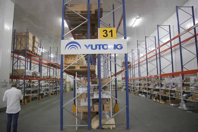 Brand New Beginning! 55 Yutong E12 Exported to Denmark, Market Shares Exceed 60%!