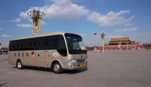 Yutong high-end business vehicle T7 makes a splash