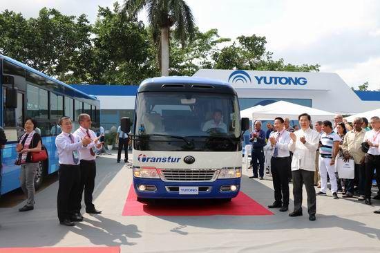 Yutong shines at FIHAV 2017