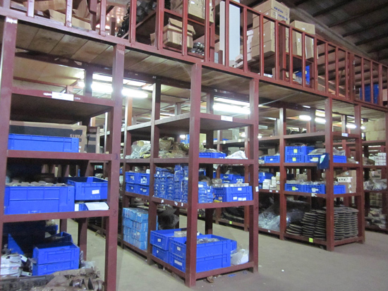 Yutong's spare parts warehouse in Ghana established